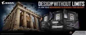 GIGABYTE TRX40 AORUS Motherboards Announced