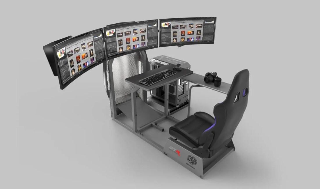 GTA-F Cooler Master Edition GTR Simulator Racing Rig