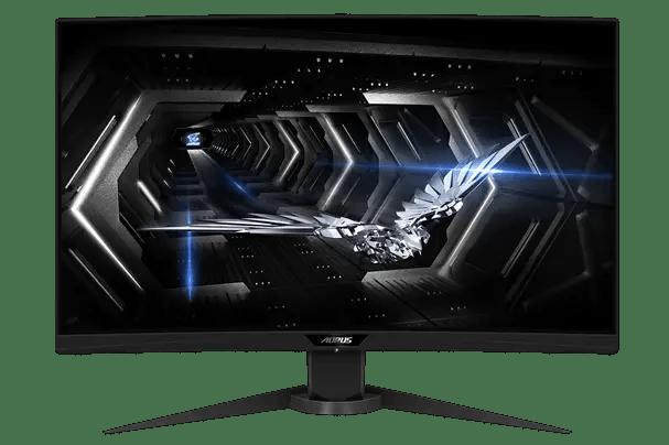 Gigabyte AORUS CV27Q Tactical Gaming Monitor (2)