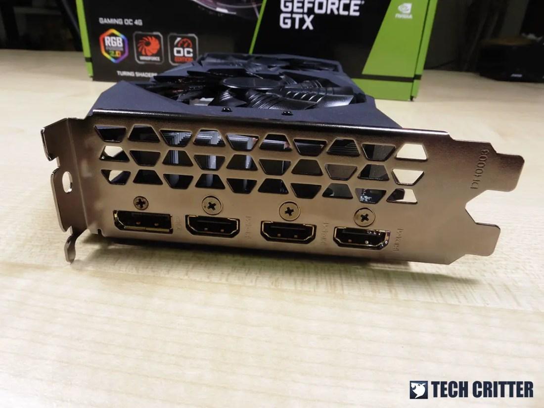 Gigabyte GTX 1650 Gaming OC (12)