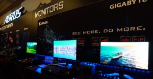 Gigabyte Gaming Monitors CES 2020
