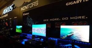 Gigabyte Gaming Monitors CES 2020