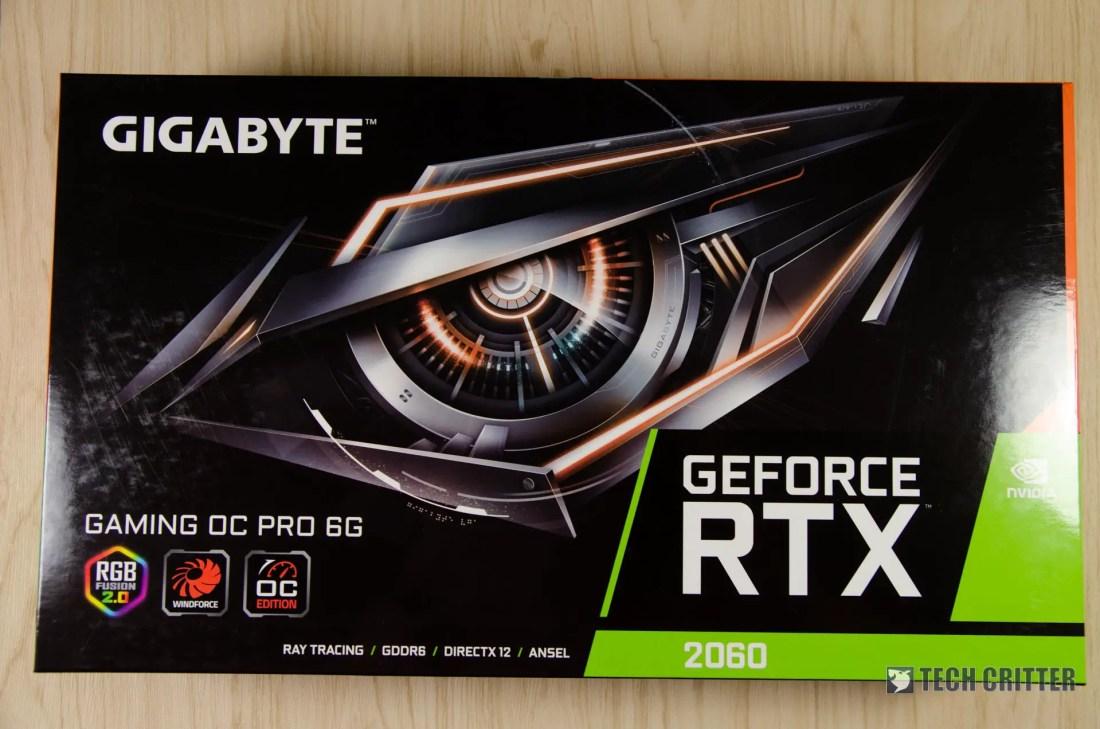 Gigabyte GeForce RTX 2060 Gaming OC Pro - 01