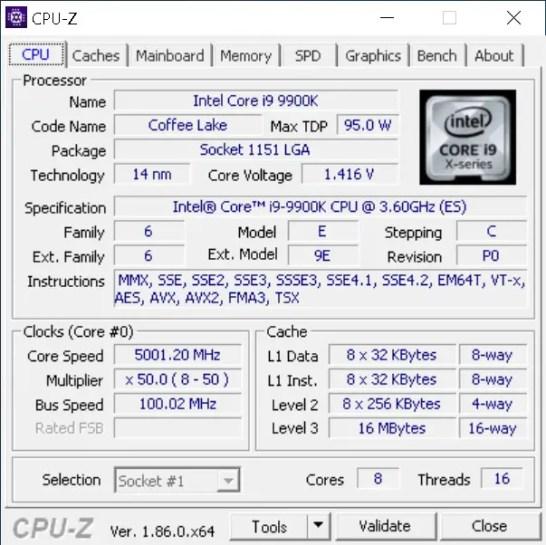 Gigabyte Z390 AORUS Master i9 9900K 5GHz