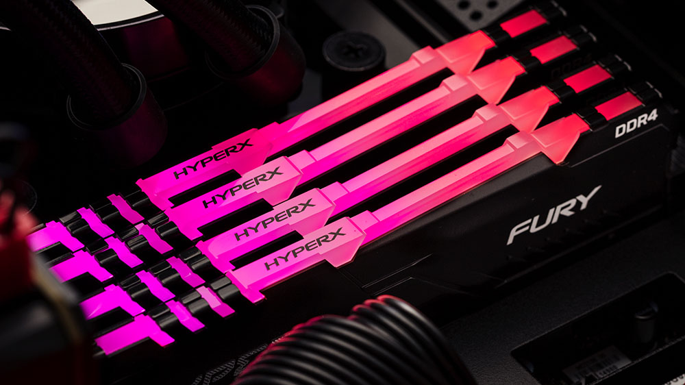 HyperX FURY DDR4 RGB Featured
