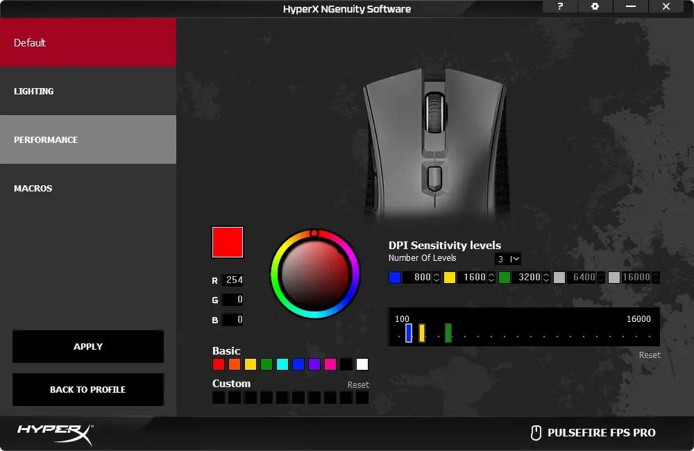 HyperX NGenuity with HyperX Pulsefire FPS Pro
