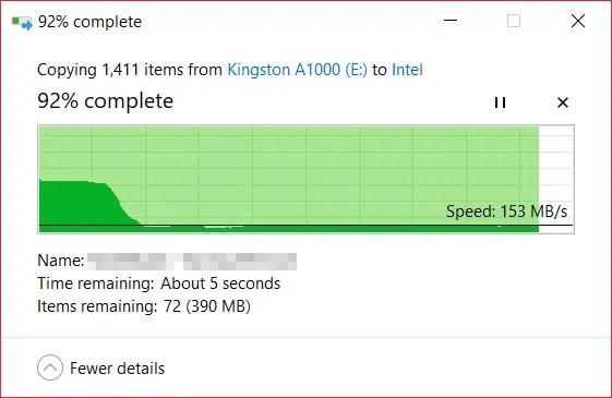 Review - Kingston A1000 M 2 NVMe SSD