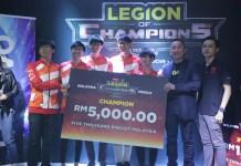 Legion of Champions 2018 Malaysia