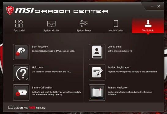 MSI GE63VR Dragon Center (05)