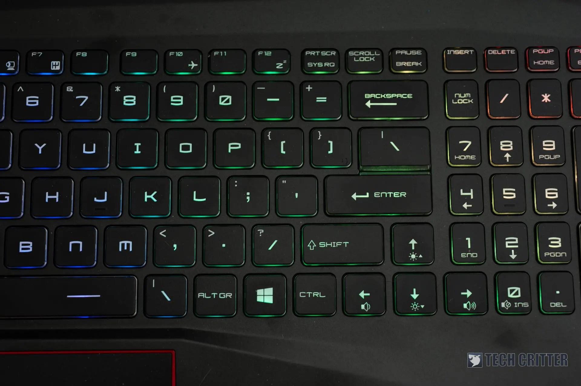 Review: MSI GE75 8SE Raider Gaming Laptop (i7-8750H, RTX