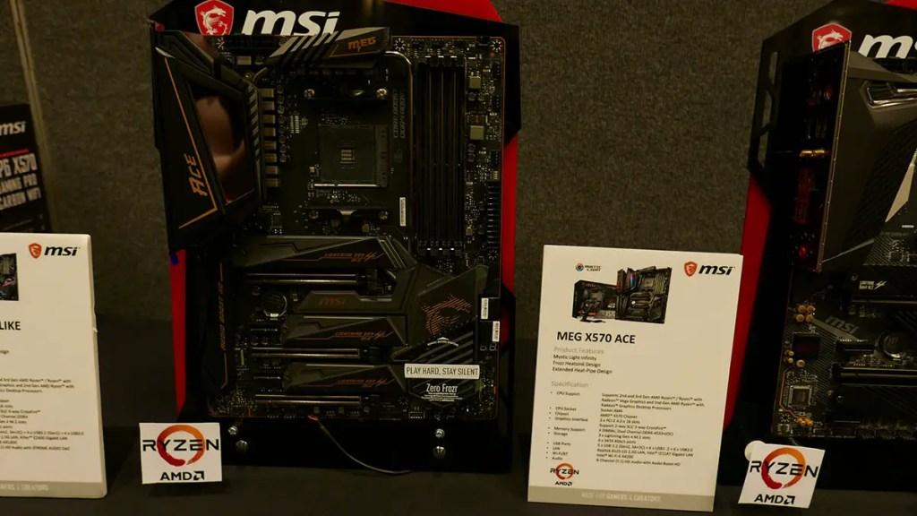 MSI X570 Motherboard MEG X570 ACE