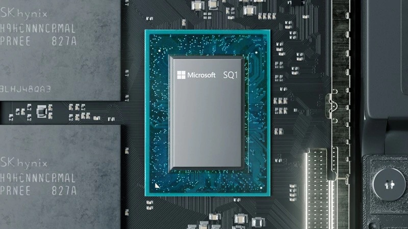 Microsoft Surface Pro X SQL Processor