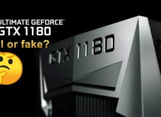 NVIDIA GeForce GTX 1180 Featured