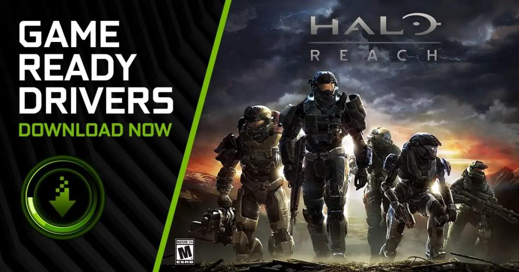 NVIDIA Quake II RTX Halo Reach Game Ready Driver Update