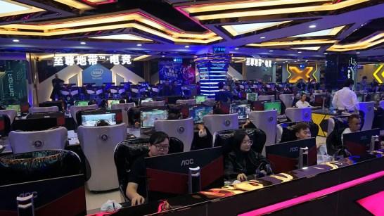 NVIDIA iCafe 2019 Zhengzhou Little Hooya E-Sport Hall (2)