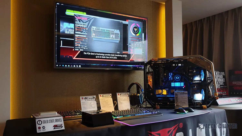 Computex 2019: Patriot & Viper showcases NVMe PCIe Gen 4 x4