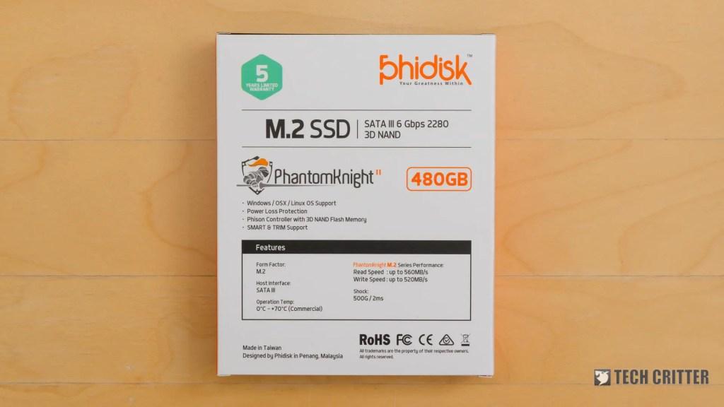 Phidisk PhantomKnight 480GB