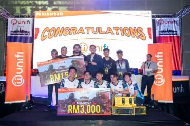 Winners of CSGO
