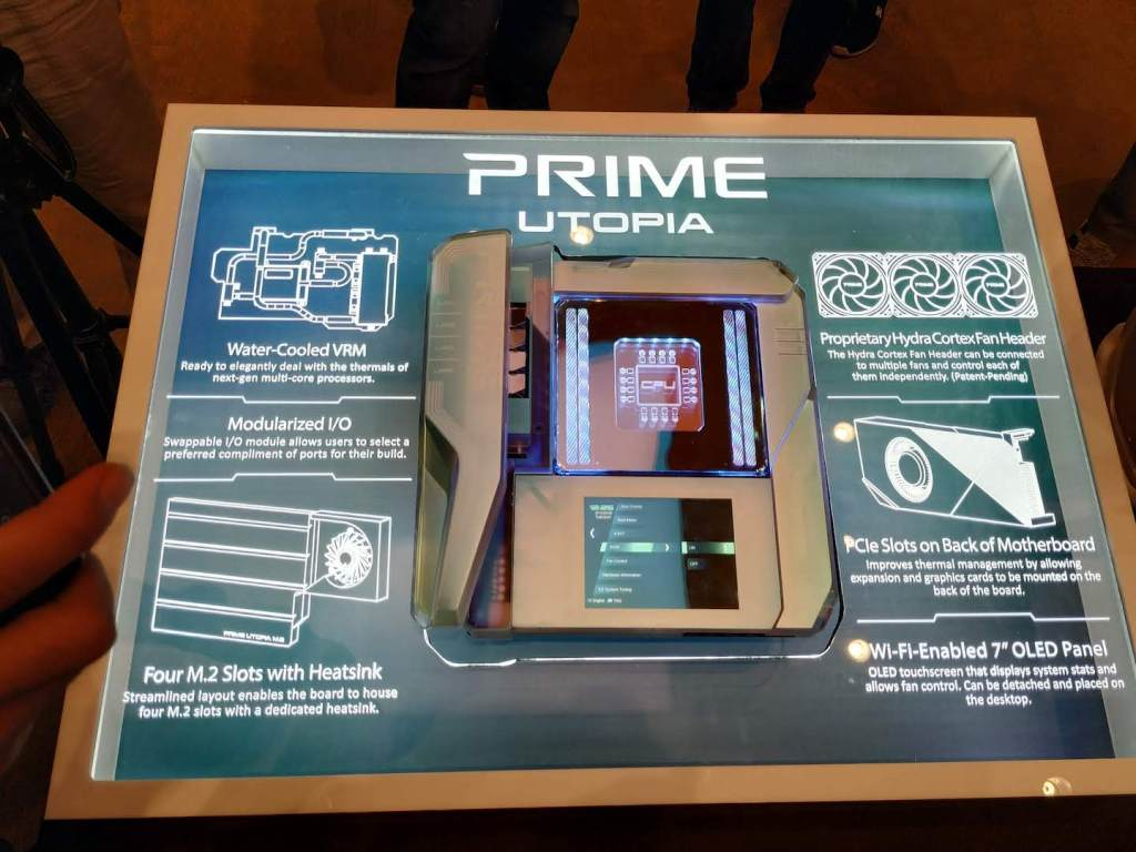 ASUS Teases the Prime Utopia Concept Motherboard 1