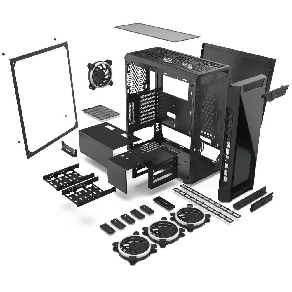SilentiumPC Announces Armis AR7X TG RGB PC Chassis 1