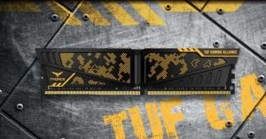 T-FORCE VULCAN TUF Gaming Alliance DDR4 Memory Kit header