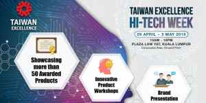 Taiwan Excellence Hi-Tech Week Featured