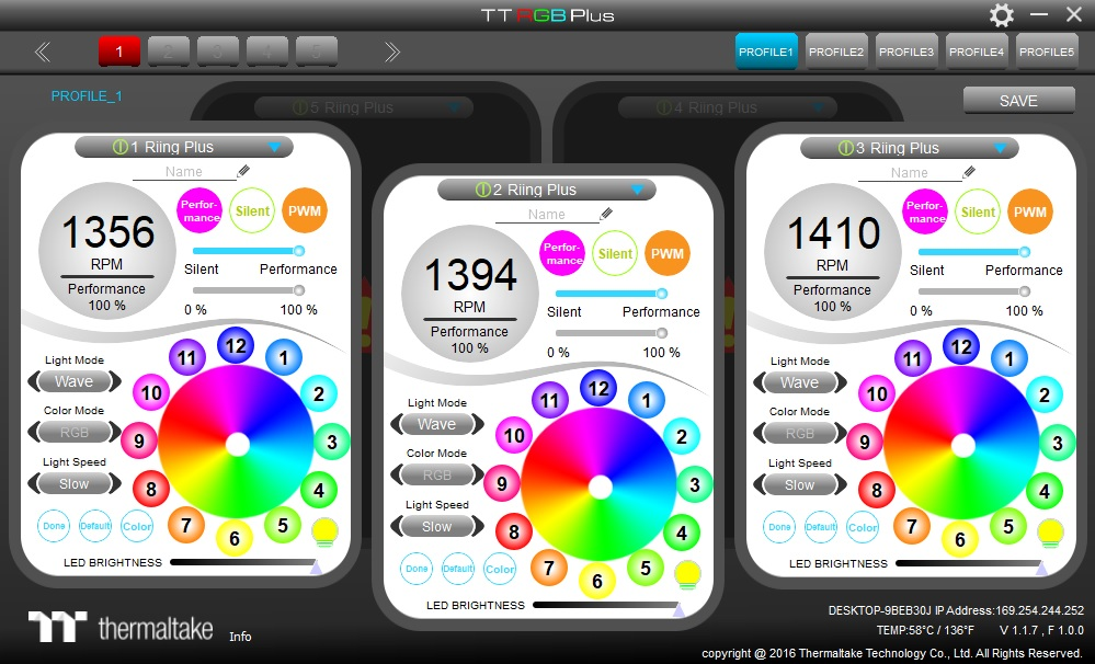 Thermaltake Floe Riing 360 RGB TT Premium Edition TT RGB Plus Software (1)