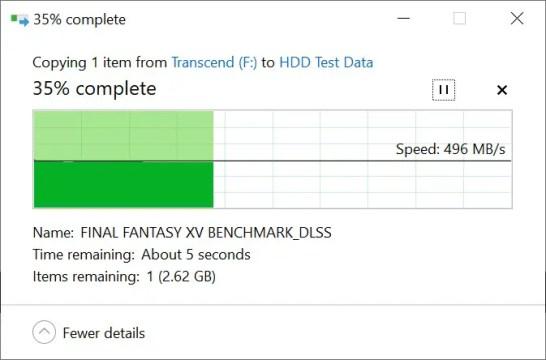 Transcend ESD230C 240GB Copy to SSD