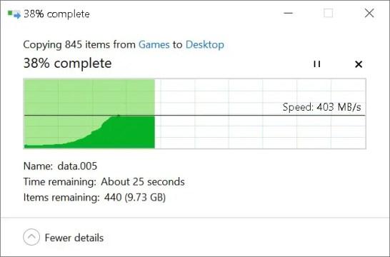 WD Black NVME SSD copy to SATA SSD