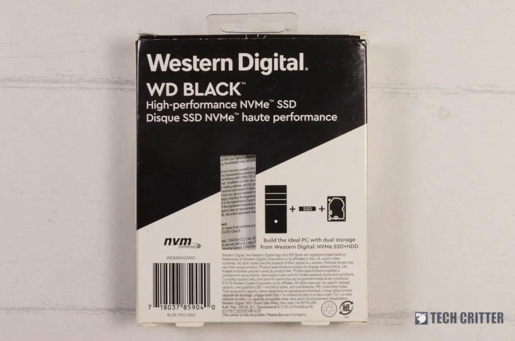 WD Black NVMe SSD (2)