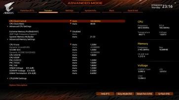 X570 AORUS Master BIOS (2)