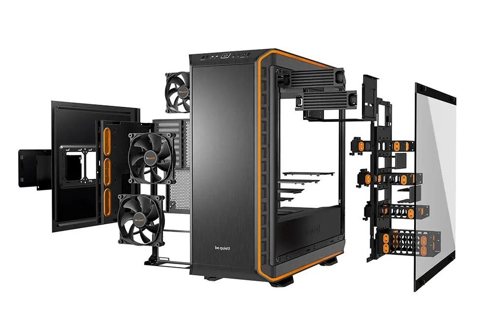be quiet Dark Base PRO 900 BLACK rev.2 Full-Tower ATX Computer Case w// Window,