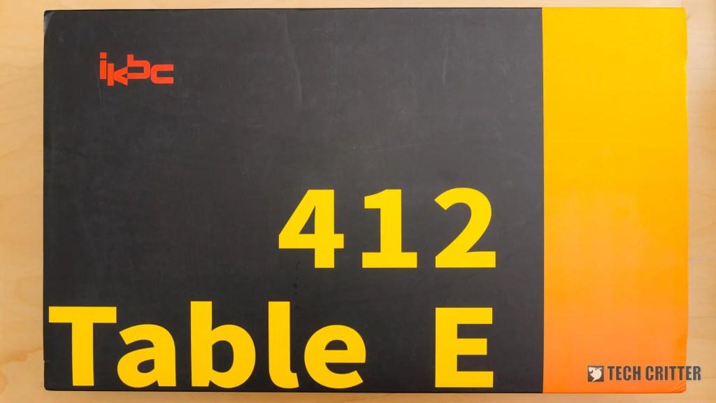 iKBC Table E 412