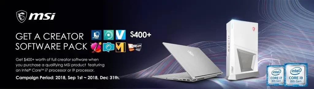 msi laptop creator software pack MAGIX Featured