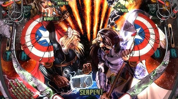 Marvel Pinball: Avengers Chronicles
