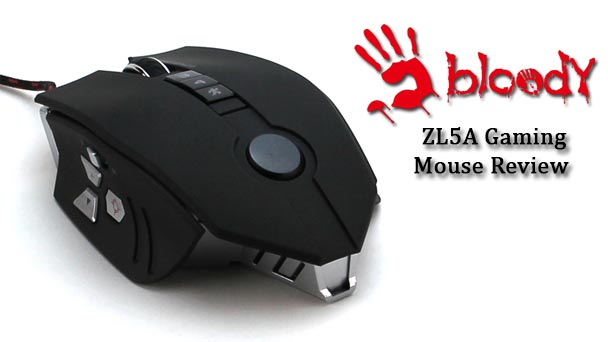 Bloody ZL5A Gaming Mouse Review