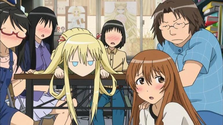 Animes sobre Otakus - Animes com Otakus