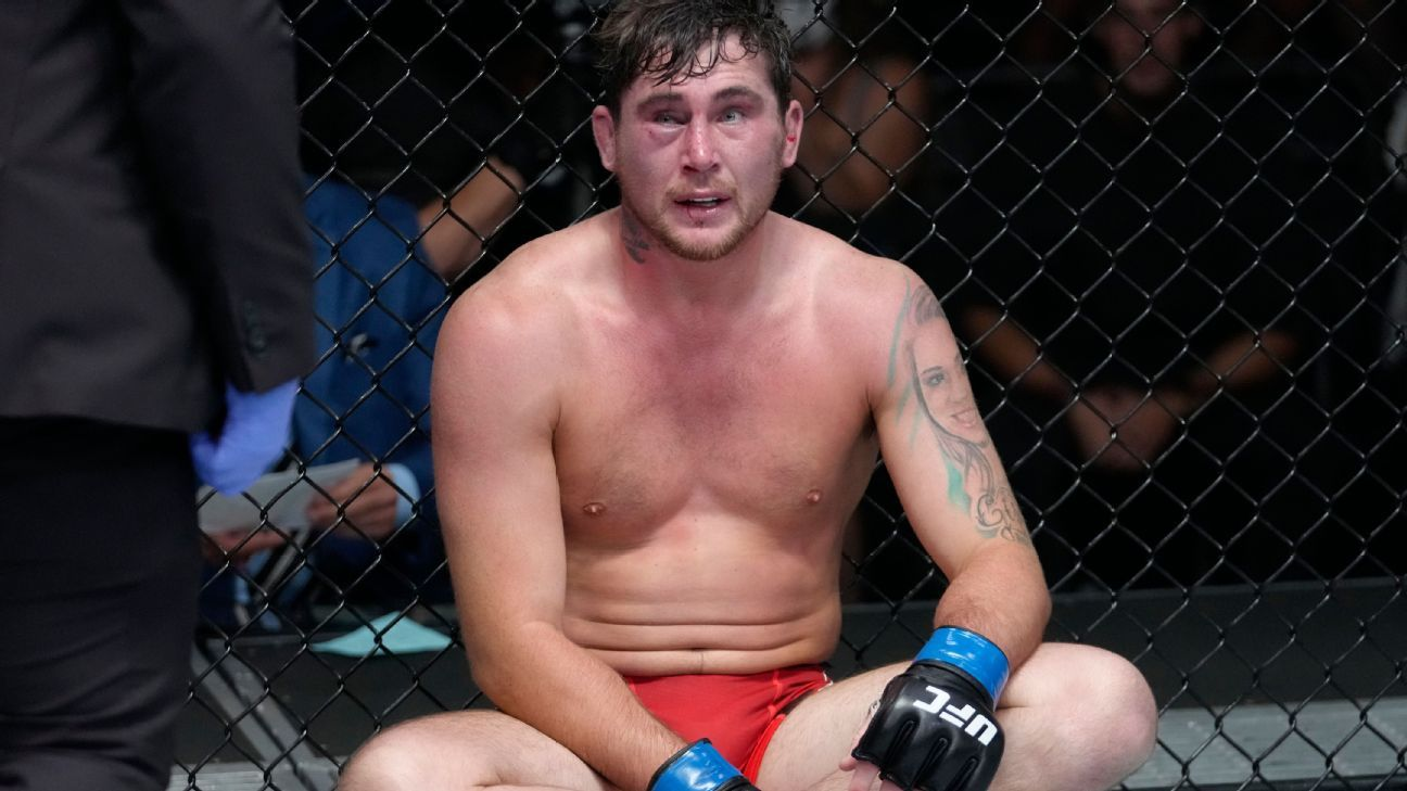 Michael Bisping reveals Darren Till tore ACL leading up to
