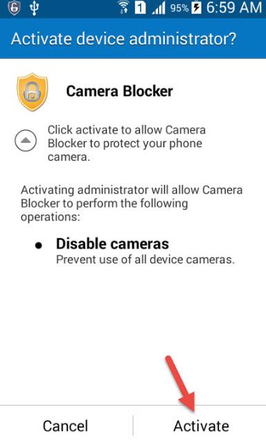 كيفية حماية كاميرا هاتفك الأندرويد من الإختراق والتجسس عليك دون ان تعلم