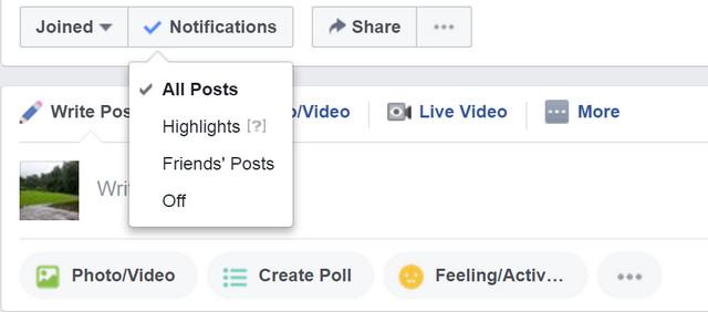 شرح كيفية إيقاف الحصول على إشعارات جروبات الفيس بوك