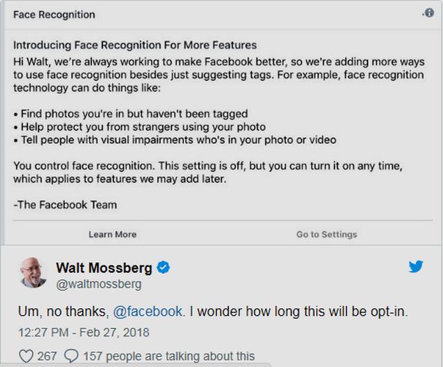 كيفية إيقاف نظام التعرف على الوجه فى الفيسبوك Face Recognition