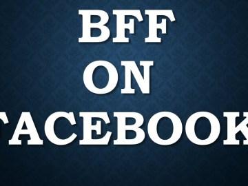 هل حقاً كلمة BFF هي للتحقق من حماية حسابك في فيسبوك