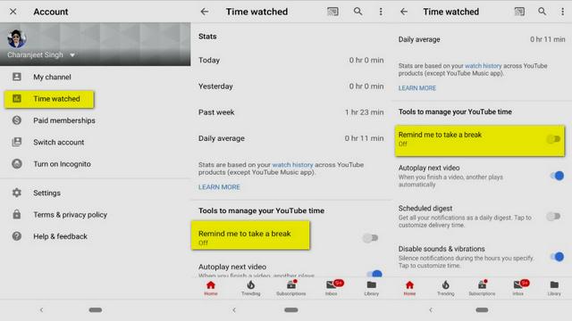 كيف يمكنك تتبع الوقت الذي تقضيه في مشاهدة مقاطع فيديو يوتيوب
