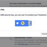 طريقة حماية حسابك في الفيسبوك بواسطة مفتاح الأمان FIDO U2F Security Key