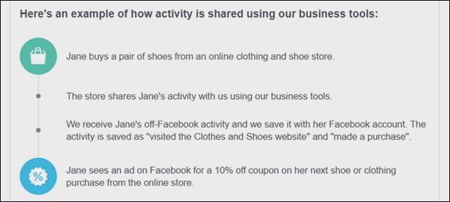 كيفية معرفة الشركات التي تقوم بالحصول علي البيانات الخاصة بك من فيسبوك