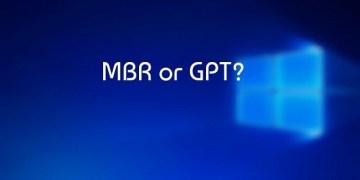 كيفية معرفة نوع محرك الاقراص GPT أو MBR قبل تثبيت ويندوز 10