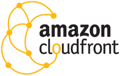 AWS CloudFrton Content Delivery Network Logo
