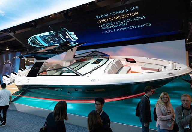 Brunswick i Sea Ray su na CES sajmu predstavili brod prepun futurističkih funkcija