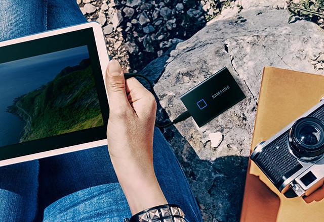 TEST: Samsung SSD T7 Touch – Brži, a sada i sa zaštitom putem otiska prsta