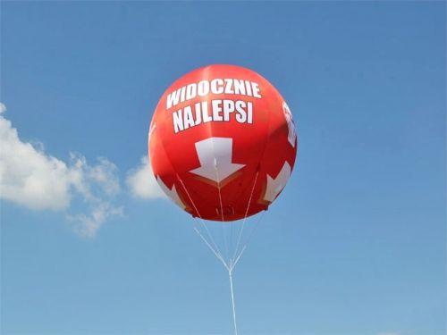 ogromny balon